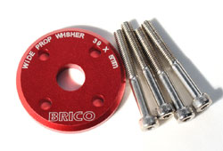 Brico Wide Prop Washer for DLE 30 (39mm X 5T)